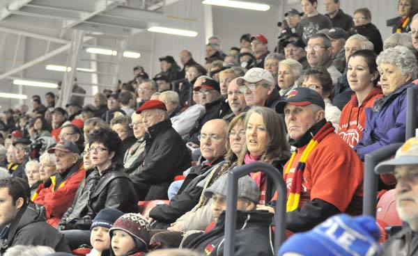 The Best Fans in the OJHL !